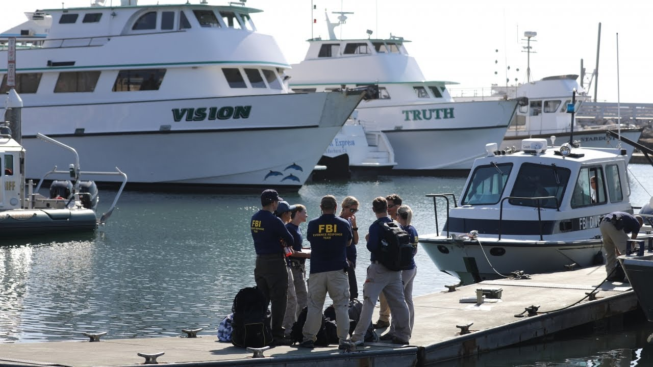 Warrants served after deadly Calif  boat fire