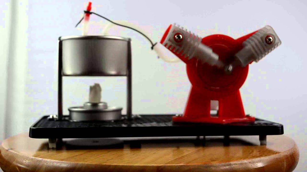 Twin Steam Engine Generator Education Toy Kits