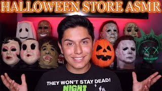 [ASMR] Halloween Store Role Play! (Masks & Tingles!)