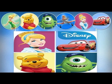 DISNEY PUZZLE PACKS FREE GAME REVIEW Inc., CARS, MONSTERS INC, AND WINNIE THE POOH