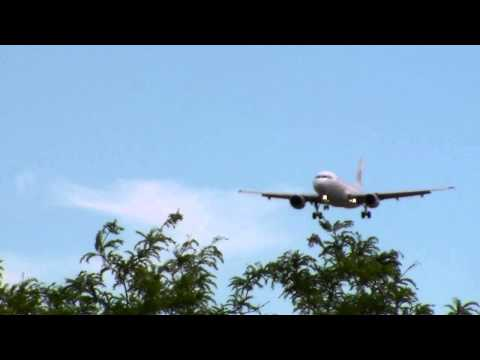 Cubana Airlines A319 Landing In Toronto On RWY 05