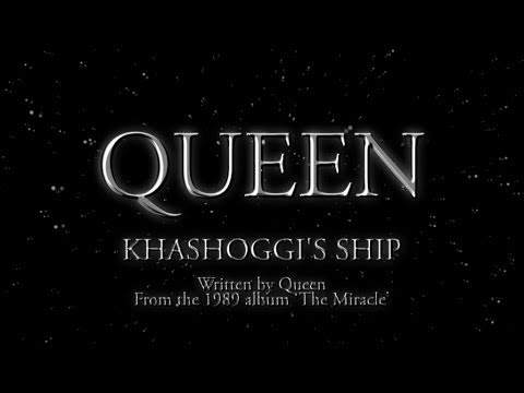 Queen - Khashoggi's Ship - (Official Lyric Video)