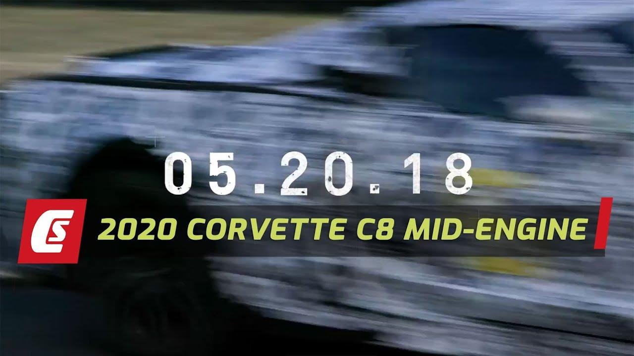 Next Generation 2020 Corvette C8 First Promo Teaser