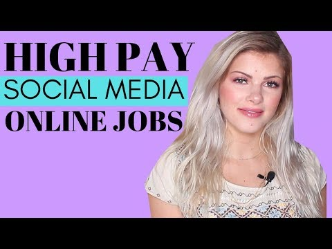 Work from Home Social Media Jobs that Pay 6 Figures