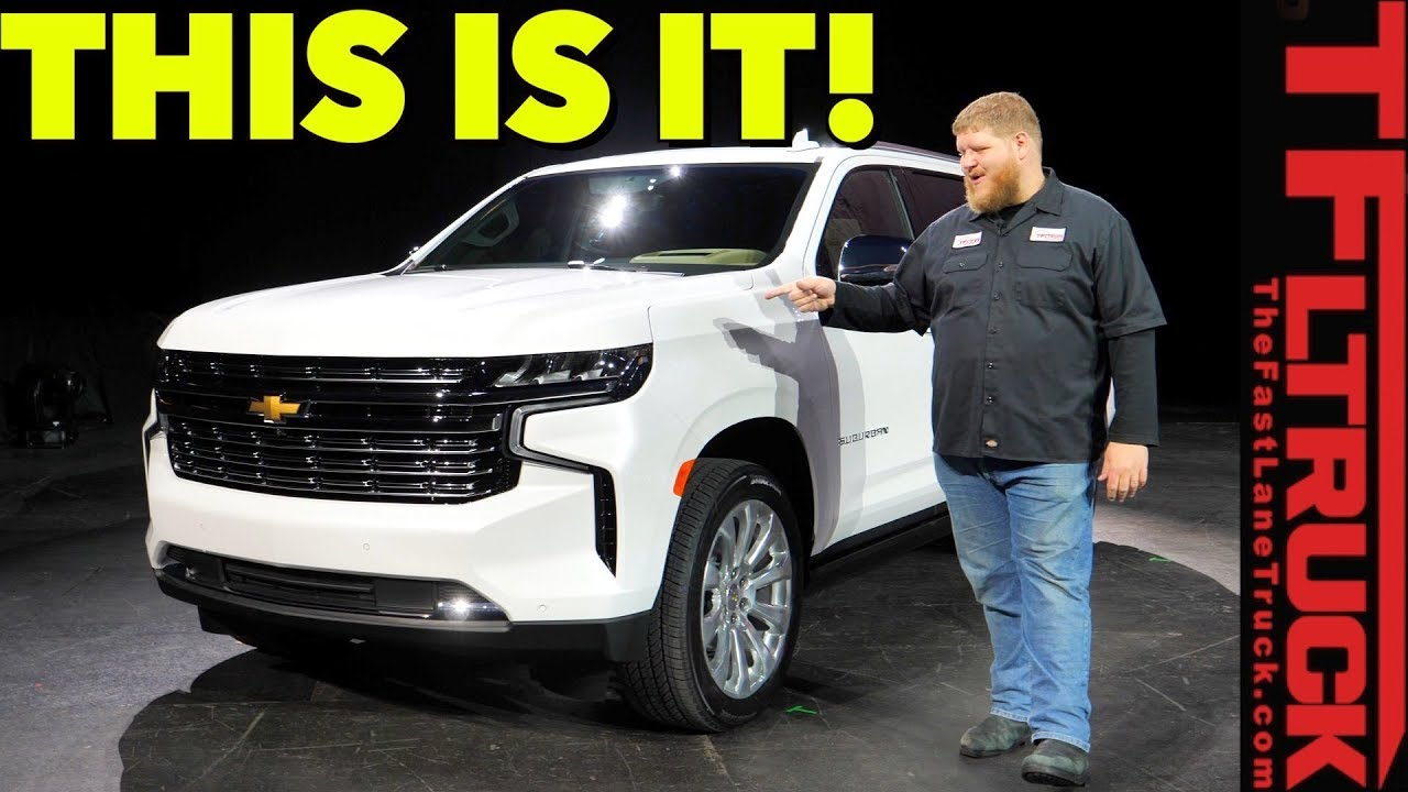 Breaking News - The All-New 2021 Chevy Tahoe & Suburban Go ...