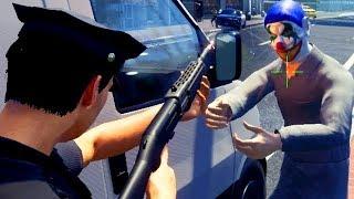 Clowns rauben Bank aus - Police Simulator Patrol Duty Gameplay German