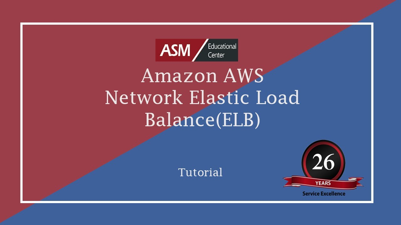 Amazon AWS Network Elastic Load Balancer (ELB)
