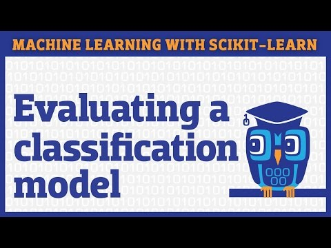 How to evaluate a classifier in scikit-learn
