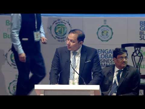 Mr. Pranav Adani, MD of Adani Wilmar Limited speaks at Bengal Global Business Summit 2018