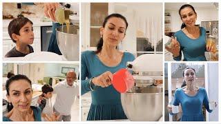 Торт на День Рождения Самый Быстрый Медовик Эгине Семейный Влог Heghineh Vlogs in Russia