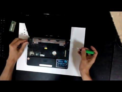 Инструкции по разборке ноутбуков