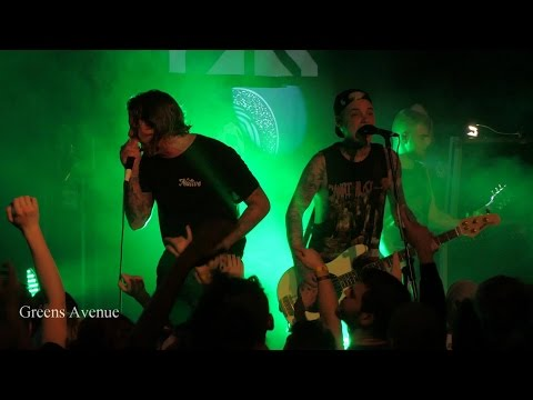 Impericon Never Say Die Tour 2015 - The Amity Affliction LIVE Budapest, Hungary