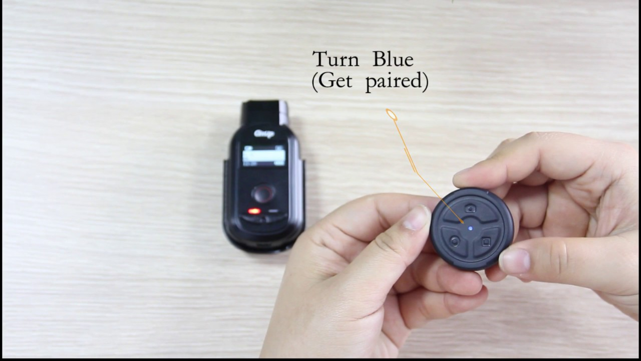 GitUp Bluetooth Remote Control Pair Guide