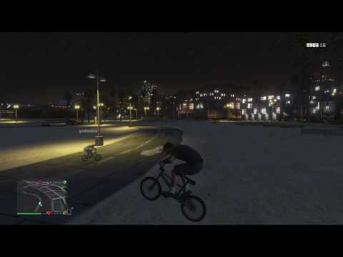 Grand Theft Auto V California bike life part 2