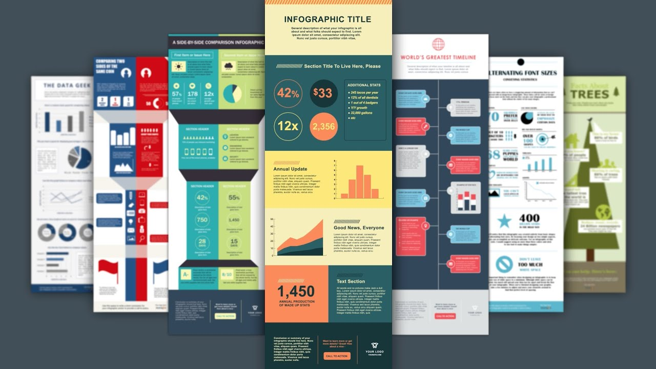 Hubspots Free Infographic Templates Youtube