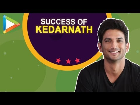 Sushant Singh Rajput's Excellent Full Interview on SUCCESS of Kedarnath