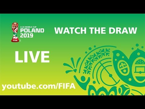 REPLAY - FIFA U-20 World Cup Poland 2019 - Draw Ceremony