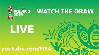 REPLAY - FIFA U-20 World Cup Poland 2019 - Draw Ceremony