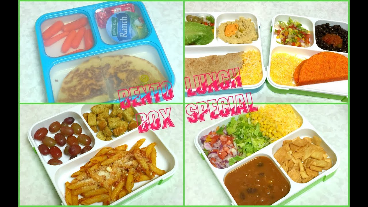 Bento Lunch Box | Vegan Vegetarian Special by Bhavna | Amazing Vegan ...