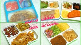 Lunch Box Recipes by Bhavna