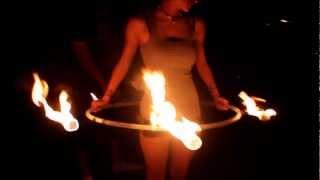 Fire Hoop: My First Burn