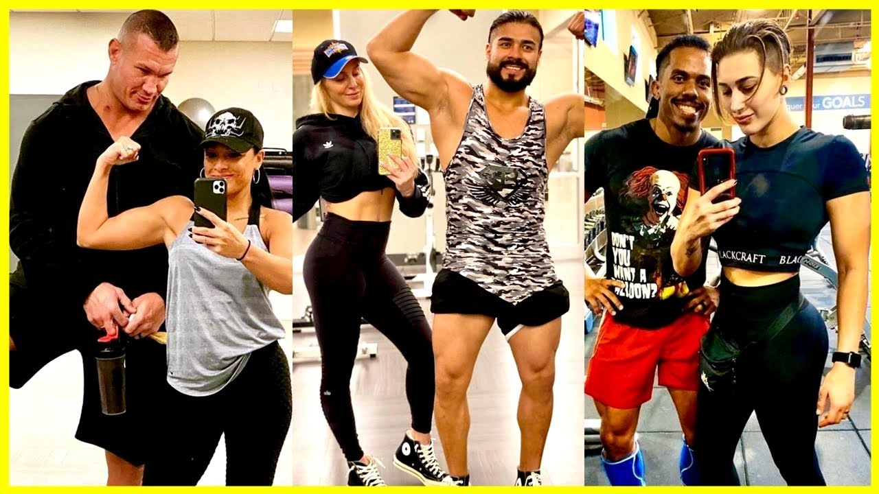 Fittest WWE Couples In Real Life 2020 | WWE Couples Training & Workout Together 2020