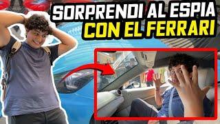 SORPRENDO AL QUE ME ESPIABA SUBIÉNDOLO A MI FERRARI..| ManuelRivera11