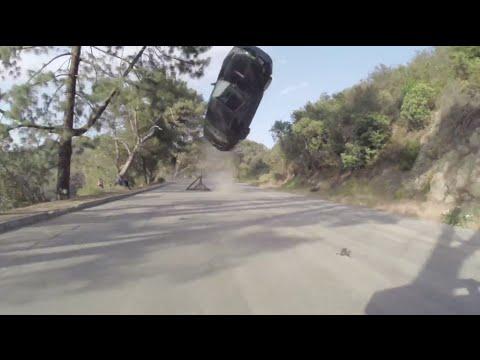 Eric Linden  Stuntman Car Crash  VGHS