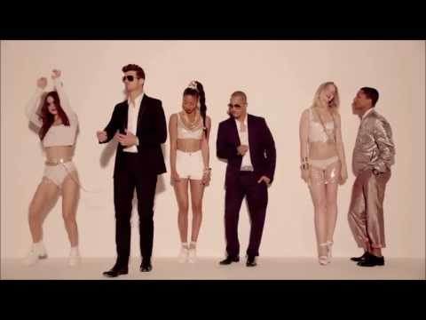 Robin Thicke Blurred Lines ft T I , Pharrell HD FREE DOWNLOAD