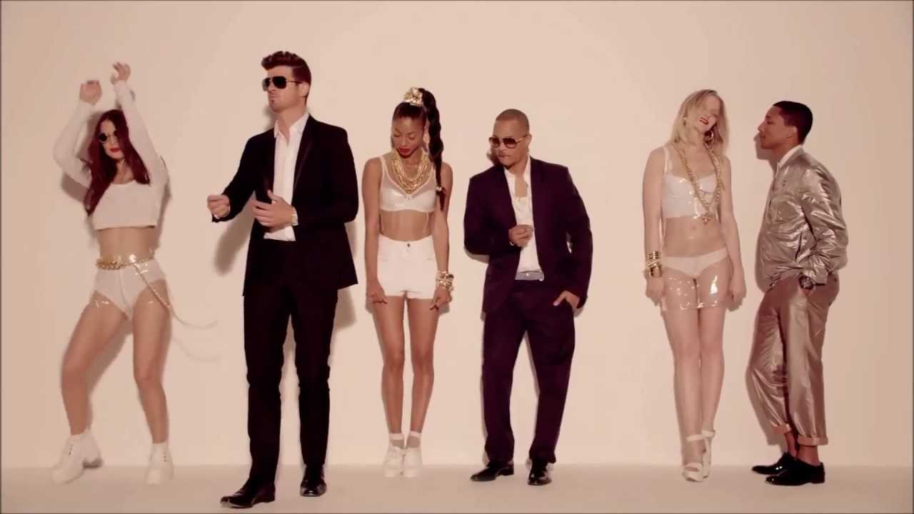 Robin thicke's 'blurred lines' named uk's top download of the.