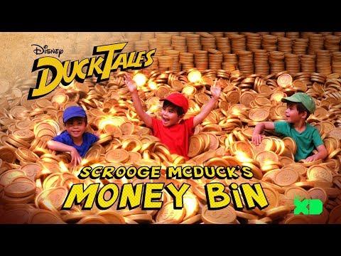 Diving into Scrooge's Money Bin