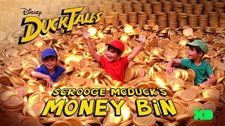 Diving into Scrooge's Money Bin