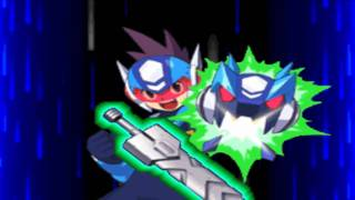 MegaMan Starforce 2 Zerker X Ninja X Saurian Intro