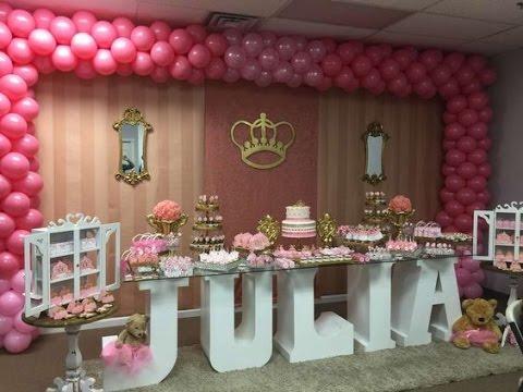 Fiesta De Princesa Ninas Ideas 2017 Princesas Para Ninas