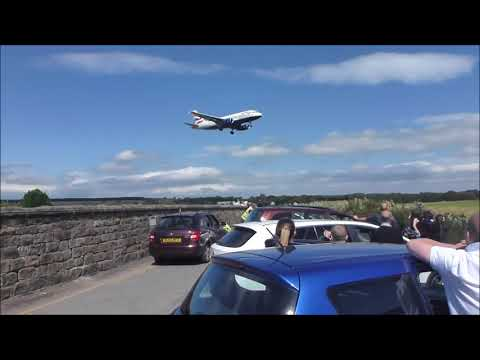 PLANES AT LEEDS BRADFORD AIRPORT!!!! IMvii Vlogs