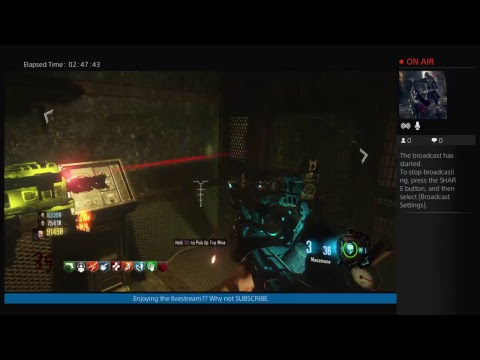 Call of Duty Black Op lll Zetsubo No Shima easter egg attempt