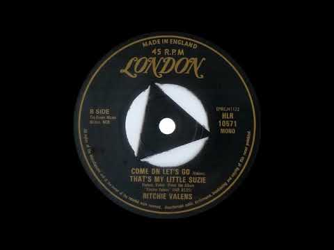 Richie Valens Come On Let's Go  LONDON EP HLR 10571 mp3