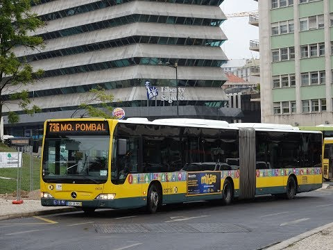 Carris - Lisbon Public Bus Network Compilation