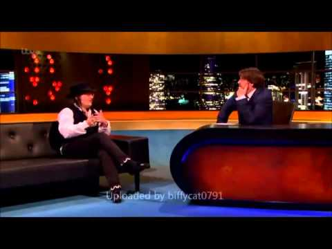 Adam Ant Interview on The Jonathan Ross Show 9/2/13