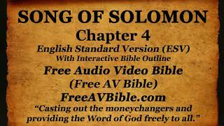 Bible Book 22. Song of Solomon Complete 1-8, English Standard Version (ESV) Read Along Bible