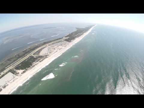 Fly-Over Jones Beach Long Island, New York July 10, 2011