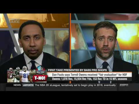 First Take   Dan Fouts Says Terrell Owens Received  Fair Evaluation  For HOF