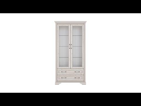 Шкаф REG2W2S цвета лиственница сибирская