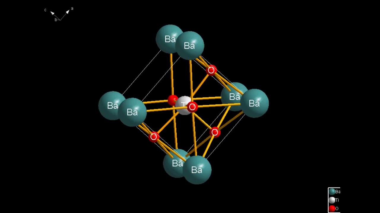 perovskite structure BaTiO3 - YouTube