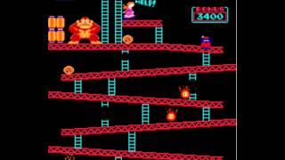 MAME Donkey Kong Former World Record - Dean Saglio 1,167,400