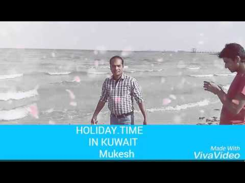 Mukesh holiday time in Kuwait