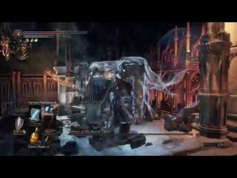 DARK SOULS™ III Dancer of the Boreal valley boss fight sorcerer