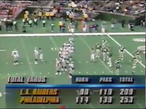 Week 9 1992 Eagles vs Los Angeles Raiders clip14