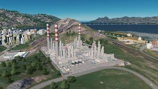 Rafineria na szczycie góry? - Cities: Skylines S07E114