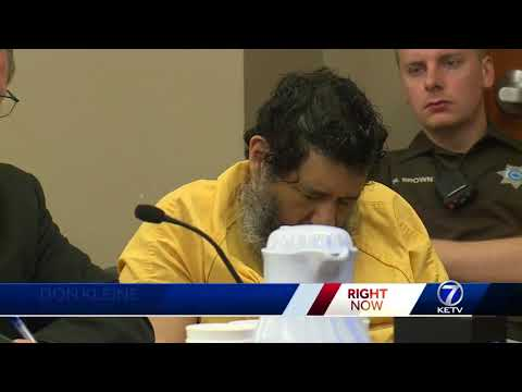 Anthony Garcia stays silent during death penalty hearing
